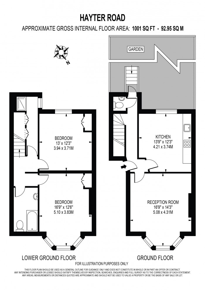 Floorplan for HAYTER ROAD, BRIXTON