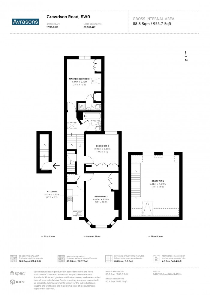 Floorplan for CREWDSON ROAD, OVAL