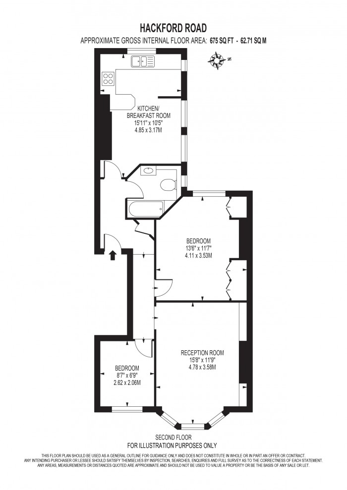 Floorplan for HACKFORD ROAD, OVAL