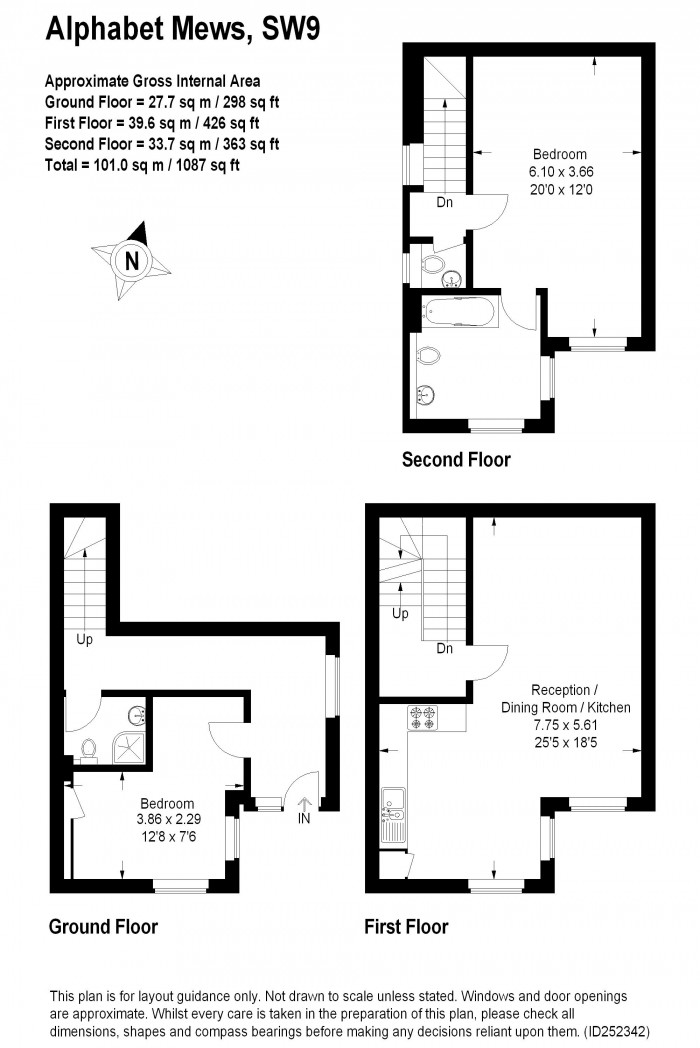 Floorplan for ALPHABET MEWS, OVAL
